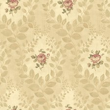 Gold Traditional Wallpaper Wallcovering by Brewster