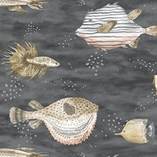Midnight Sea Wallcovering by Scalamandre Wallpaper