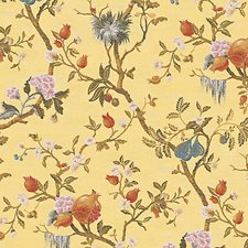 Giallino Wallcovering by Scalamandre Wallpaper