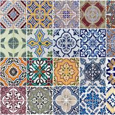 CR-67202 Azulejos Kitchen Panel by Brewster