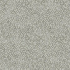 Silver/Grey Damask Wallcovering by York