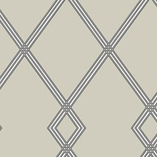 CY1510 Ribbon Stripe Trellis by York