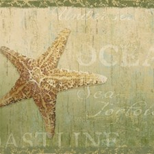 Olive Coastal Wallpaper Wallcovering by Brewster