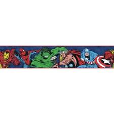 DY0240BD Marvel Avengers Wallpaper Border by York