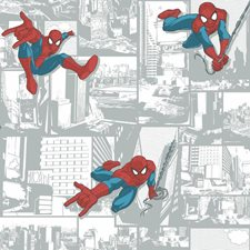 DY0256 Marvel Ultimate Spiderman Wallpaper by York