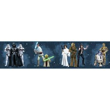 DY0287BD Star Wars Classic Characters Wallpaper Border by York