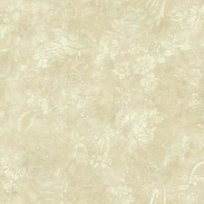Beige/Tan/Cream Floral Wallcovering by York