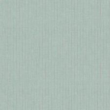 Aquamarine/Grey Stripes Wallcovering by York