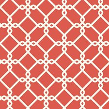 Red/Orange/White Geometrics Wallcovering by York
