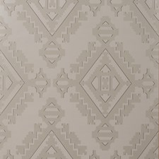 Pewter Geometric Wallcovering by Groundworks