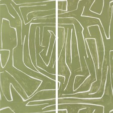 Fern Modern Wallcovering by Groundworks