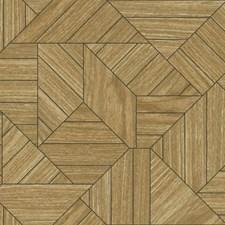 HO3373 Wood Geometric by York