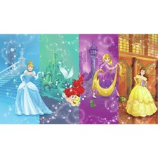 JL1391M Disney Princess Scenes XL Mural by York