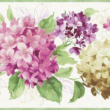 Floral Medium Wallcovering by York
