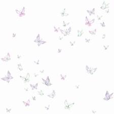 KI0525 Watercolor Butterflies by York