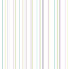 White/Purple/Turquoise Children Wallcovering by York