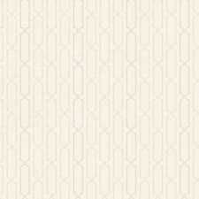 Soft Matt Cream/Dove Gray/Pale Linen Taupe Stripes Wallcovering by York