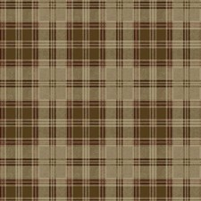 Tan/Brown/Red Plaids Wallcovering by York