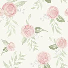 MK1128 Watercolor Roses by York