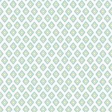 White/Aqua/Yellow Geometrics Wallcovering by York