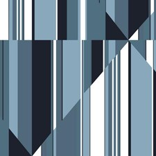 MU0243M Pinwheel Stripe Mural by York