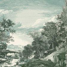 MU0272M Provincial Scenic Mural by York