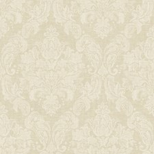 Beige/Taupe Damask Wallcovering by York