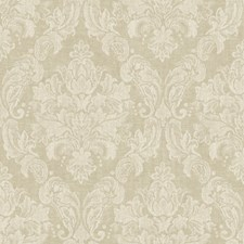 Old Rose/Warm Cream Damask Wallcovering by York