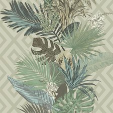 ON1630 Tropical Oasis Stripe by York