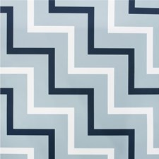 Navy/White Geometric Wallcovering by Lee Jofa Wallpaper