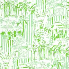 Palm Green Print Wallcovering by Lee Jofa Wallpaper