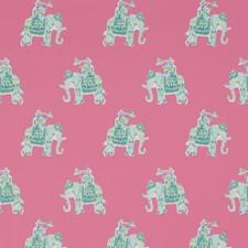 Tiki Pink Print Wallcovering by Lee Jofa Wallpaper