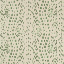 Green Animal Wallcovering by Brunschwig & Fils