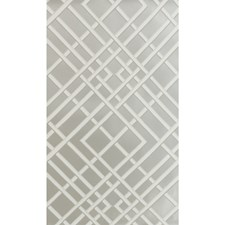 Silver Print Wallcovering by Brunschwig & Fils