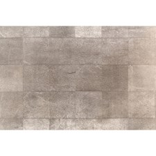 Silver Metallic Wallcovering by Brunschwig & Fils
