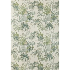 Lagoon Asian Wallcovering by Brunschwig & Fils