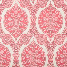 Pink Damask Wallcovering by Brunschwig & Fils