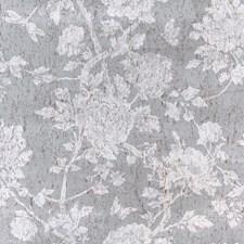 Grey Botanical Wallcovering by Brunschwig & Fils