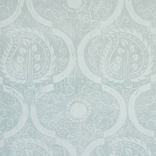 Aqua Botanical Wallcovering by Lee Jofa Wallpaper