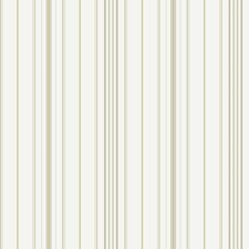 Cream/Taupe/Beige Stripes Wallcovering by York
