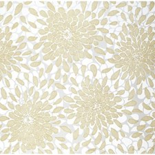 Gold Glitter/White/Ash Gray Floral Medium Wallcovering by York