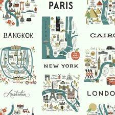 RI5162 City Maps by York