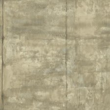 Beige/Taupe/Grey Industrial Wallcovering by York