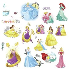 RMK3181SCS Disney Princess Friendship Adventures by York