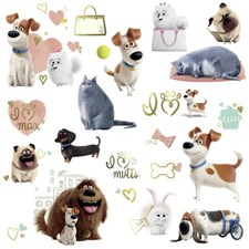 RMK3198SCS Secret Life Of Pets Girls by York