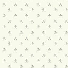 White/Grey Children Wallcovering by York
