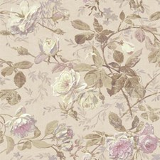 Pale Pink/Lavender/Lilac Botanical Wallcovering by York
