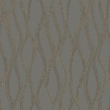 Charcoal/Silver/Gold Geometrics Wallcovering by York