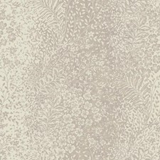 Cream/Silver Grey Botanical Wallcovering by York