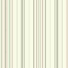 White/Medium Grey/Dark Grey Stripes Wallcovering by York